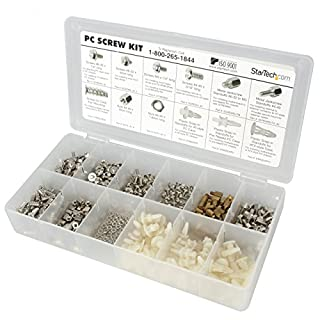 StarTech.com Deluxe Assortment PC Screw Kit - Screw Nuts and Standoffs - Screw kit - PCSCREWKIT (B00006B8CX) | Amazon price tracker / tracking, Amazon price history charts, Amazon price watches, Amazon price drop alerts