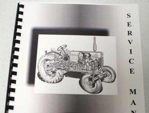Misc. Tractors Clark Forklift C500 Y40/Y45/Y50/Y55/SY60 Service Manual