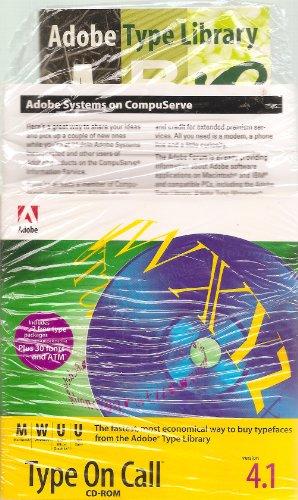 Adobe Type On Call 4.1 (CD-ROM)