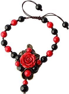 cc5746671225 Amazon.es: pulseras etnicas - Acero inoxidable / Mujer: Joyería