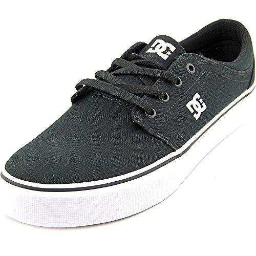 DC Shoes Trase Tx, Zapatillas bajas para hombre, color negro y blanco, 42 EU