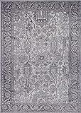 Luxe Weavers Manhattan Collection Oriental 8x10 Grey Area Rug 1564