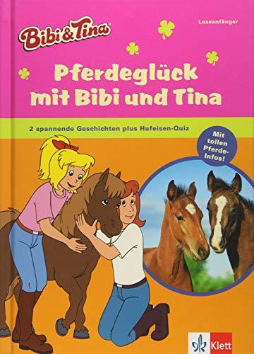 Price comparison product image Pferdeglück mit Bibi und Tina: 2 spannende Geschichten plus Hufeisen-Quiz. Mit tollen Pferde-Infos! Erstleser 1. und 2. Klasse ab 7 Jahren