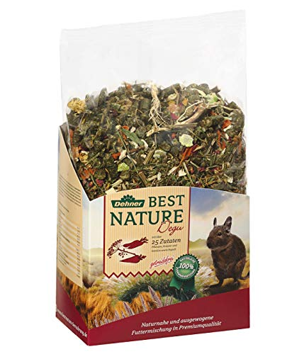 Dehner Best Nature Nagerfutter Adult, Degufutter, 2 kg