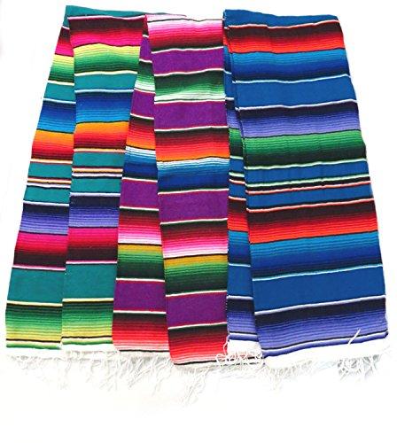 Leos Imports Sarape Serape mexikanische Decke, XL, 208,3 x 157,5 cm (sortiert)