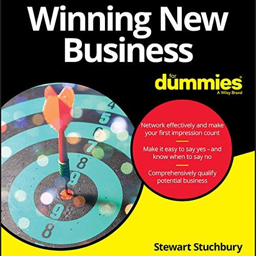 Winning New Business for Dummies audiobook cover art