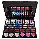 MATT LOOK Makeup Palette 60 Eyeshadow 12 Lip Gloss 3 Blusher 3 Face Powder, Multicolour,