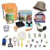 OOTD Kids Outdoor Explorer Kit, Bug Catching Kit Nature Exploration Kit Adventure Partner Complete Kit Educational Learning Through Experience Kids Bio-World