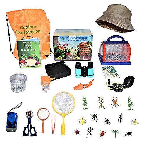 Juego de juguetes de aventura al aire libre, material plástico juguetes de aventura al aire libre, interesante juguete explorador al aire libre para uso por niños y niñas de 3 a 14 años