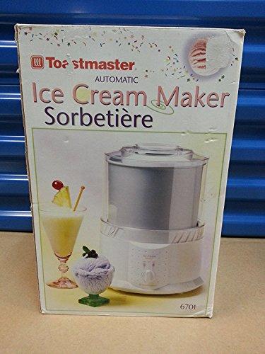 Toastmaster Automatic Ice Cream Maker