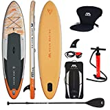 Aqua Marina Magma 2019 Sup Board Hinchable Stand Up Paddle Tabla de Surf Remos