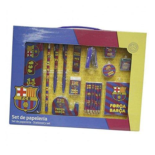 Set de 18 pièces grand FC Barcelone-coffret papeterie (36/2)