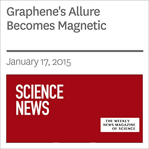Graphene's Allure Becomes Magnetic  audiobook cover art