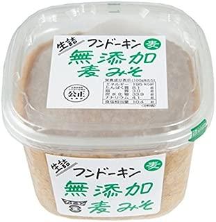 フンドーキン 生詰無添加麦みそ 850g