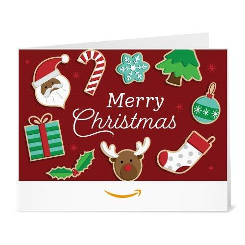 Amazon Gift Card - Print - Christmas Goodies