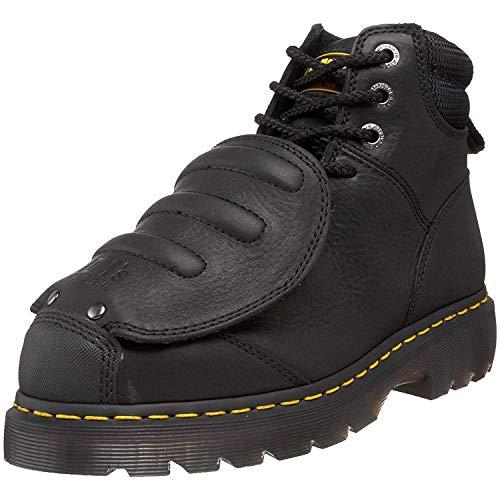 Dr. Martens - Men's Ironbridge Met Guard Heavy Industry Boots, Black, 9 M US