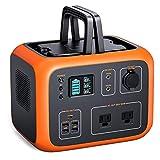 TACKLIFE Generatore di Corrente Portatile P50, Centrale Elettrica Solare da 500 Wh, Ricarica Rapida Wireless, Uscita AC/DC/USB/USB-C, Lampada a LED