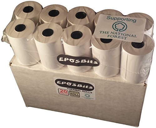 eposbits® Merk 1 doos met 20 rollen op maat Magic3 8 kassarollen Magic3 X8 kassarollen magic-3 X-8
