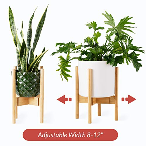 Planter Stand for Indoor Plants, Mid Century Modern Plant Holder, Indoor Pot...