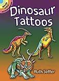 Diversión y perfecto para fiestas de niños, Halloween y más Este folleto contiene diez tatuajes en un 5 - folleto 1/2x4-1/4 pulgadas Tatuajes no permanentes Tema Dinosaur Hecho en los EE.UU.