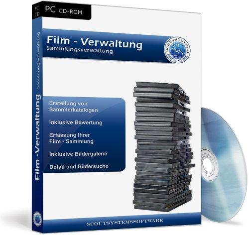 Film Verwaltung Software - DVD, Blu-ray, VHS Sammlung archivieren