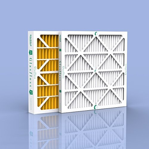20x25x4 Merv 8 Furnace Filter (6 Pack) by Glasfloss Industries