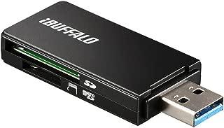 iBUFFALO USB3.0 microSD/SDカード専用カードリーダー ブラック BSCR27U3BK