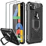 Milomdoi [Cover con 2 Pezzi] Case per Google Pixel 4A Cover + 2 Pezzi HD Pellicola Protettiva...