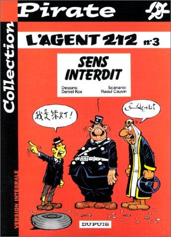 BD Pirate : L'agent 212, tome 3 : Sens interdit