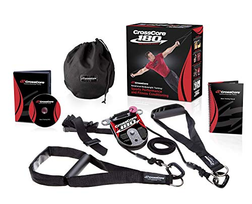 CrossCore 180 Entrenamiento en Suspensión Trainer Bodyweight Fitness