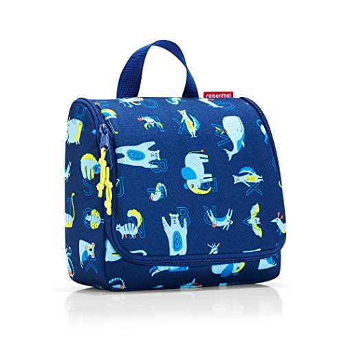 reisenthel toiletbag kids 23 x 20 x 10 cm/ 23 x 55 x 8,5 cm expanded / 3 l / abc friends blue