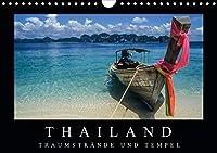 Thailand - Traumstraende und Tempel (Wandkalender 2021 DIN A4 quer): Faszierende Aufnahmen von den Traumstraenden zu den goldenen Tempeln. (Monatskalender, 14 Seiten )