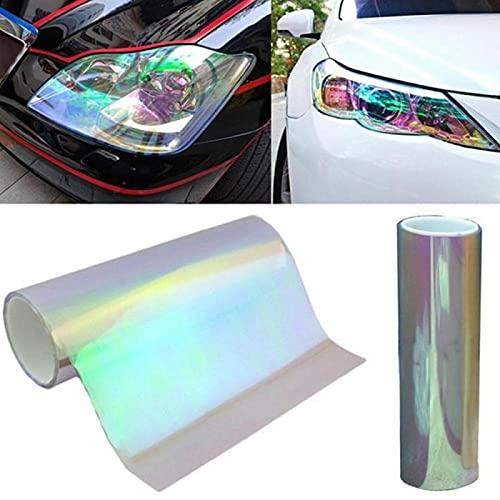XIAOBAOBEI Chameleon Color Cambio Tint Vinilo Envoltura Pegatina Impermeable Faro película Coche lámpara de luz 30 * 60cm