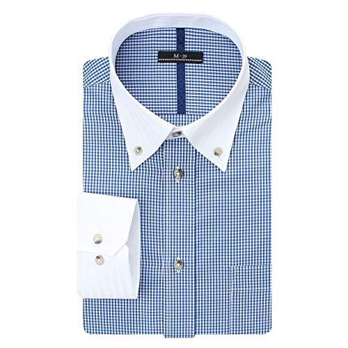 (ビジネススタイル アルフ) 長袖 ワイシャツ イージーケア 形態安定 Yシャツ カッターシャツ ビジネス/sun-ml-sbu-1109-al-LL-43-84-AT351-40-20a