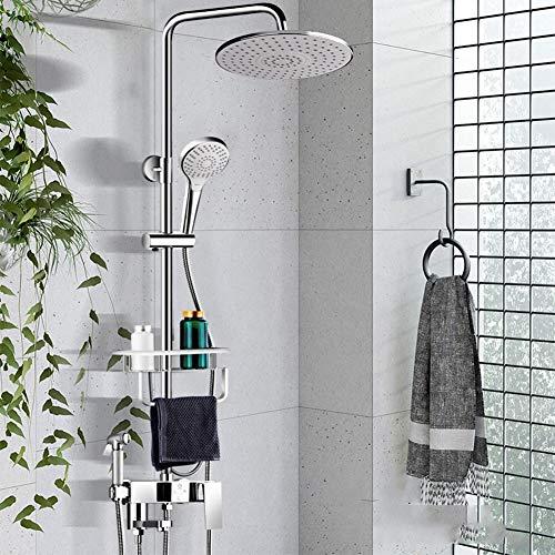 Seifenhalter Duschsystem,Weiß Konstante