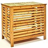 bambuswaldCesto de bambú para la ColadaǀArcón ecológico - Cesta de...