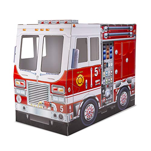 Melissa & Doug Fire Truck Indoor Playhouse