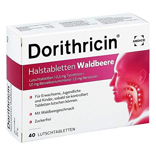 Dorithricin Halstabletten Waldbeere, 40 St