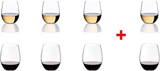 Riedel O Wine Tumbler Cabernet/Viognier, Pay for 6 get 8