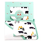 Land Of The Wee - Premium Baby Hooded Towel and Washcloth Set for Boys...