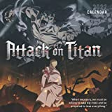 Attack on Titan 2022 Calendar: Great Calendar 2021 2022 with 6 months bonus - large grid for scheduling and organizing!