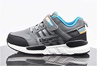 SF Autumn and Winter Girls Shoes, Autumn and Winter Children's Shoes, Boys Breathable Sneakers, Double Net Girls Boys Casual Girls Shoes (Color : B, Size : 40EU)