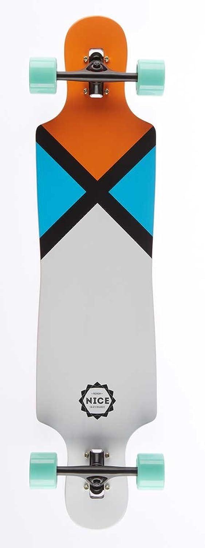 Nice Longboard 'Sign' 'Sign' 'Sign' Komplettlongboard (NLBLSK40) B00XLSVTTE  Kostengünstig 399a98