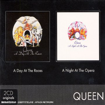 Coffret 2 CD : A Day At The Races / A Night At The Opera [Import belge]