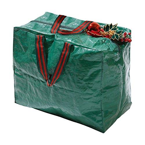 Decoration Bag con asa de transporte para decoraci/ón de Navidad guirnaldas y bolas de luz Taylor /& Brown/® Bolsa de almacenamiento para /árbol de Navidad