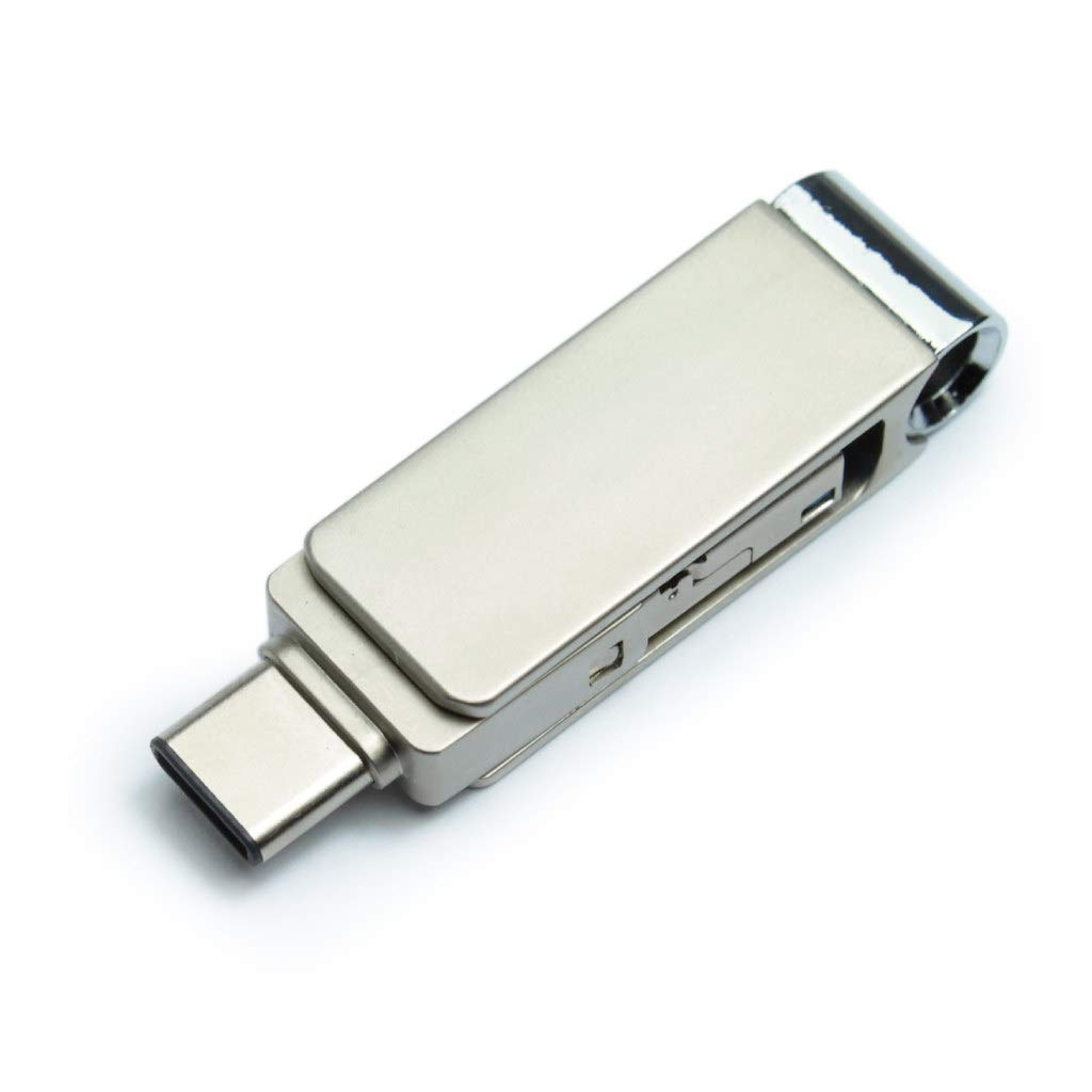 V-SMART 3 in 1 USB 16GB USB 3.0 Type C Flash Drive High Speed OTG Flash Drive for Smartphone