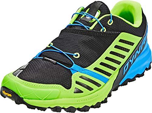 Dynafit Alpine Pro, Chaussures de Trail Homme, Multicolore (Sparta Blue/Cactus), 48.5 EU