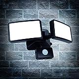 20W LED Strahler mit Bewegungsmelder einstellbar,LED...