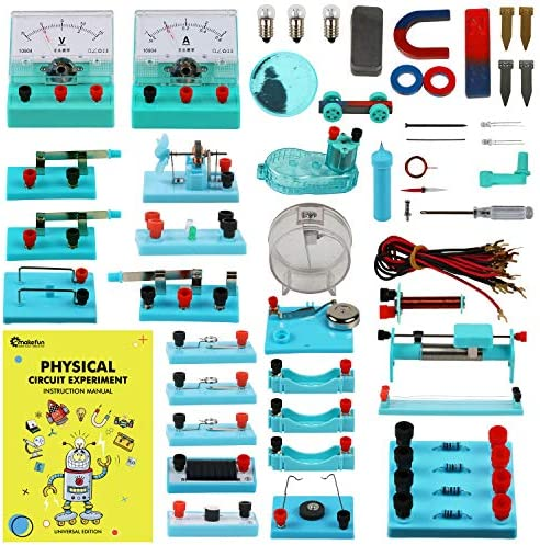 Emakefun STEM Physics Science Lab Basic Circuit Learning Starter Kit Electricity and Magnetism product image