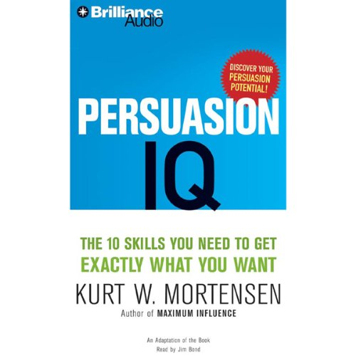 Persuasion IQ audiobook cover art